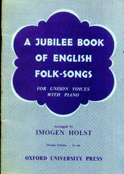Image for A Jubilee Book of English Folk-Songs