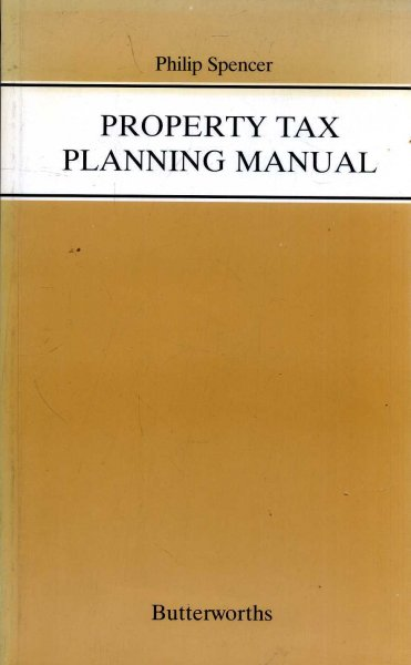 Image for Property Tax Planning Manual