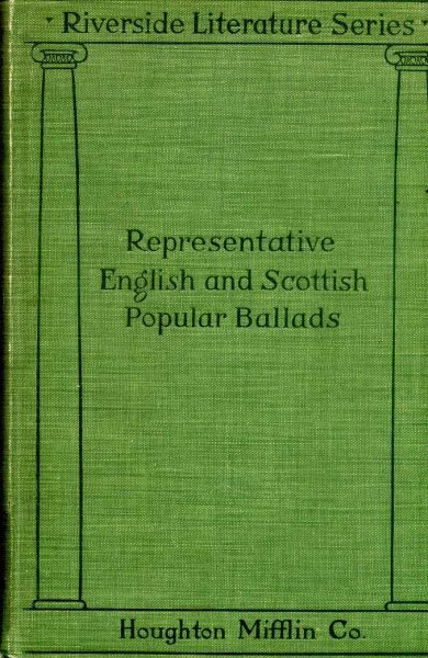 Image for English and Scottish Popular Ballads