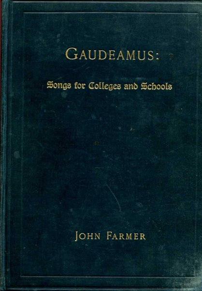 Image for Gaudeamus - a selection of songs for Colleges and Schools