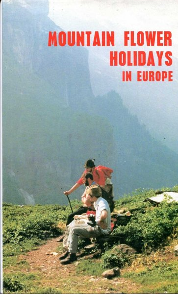 Image for Mountain Flower Holidays in Europe