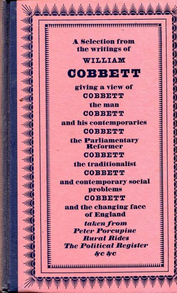 Image for Cobbett's England - a selection from the writings of William Cobbett