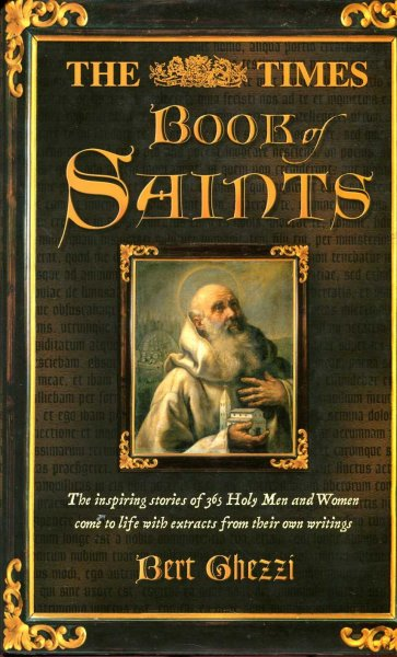 Image for The Times Book of Saints