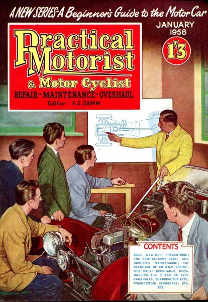 Image for Practical Motorist &  Motor Cyclist : January 1958, vol 4, No 43