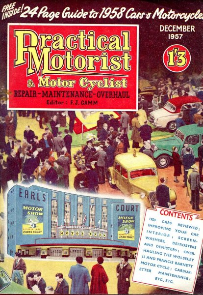 Image for Practical Motorist &  Motor Cyclist : December 1957, vol 4, No 42