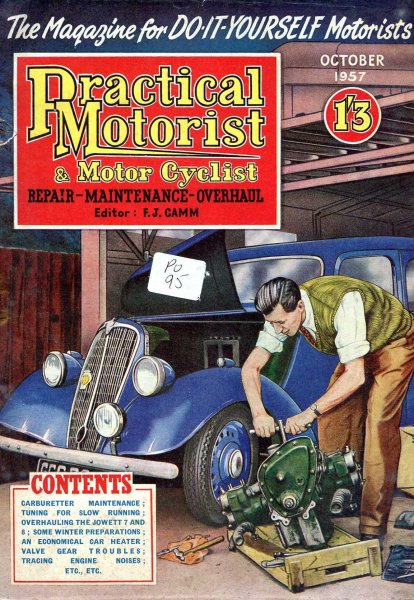 Image for Practical Motorist &  Motor Cyclist : October 1957, vol 4, No 40