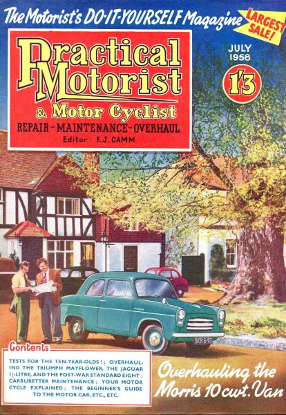Image for Practical Motorist &  Motor Cyclist : July 1958, vol 5, No 49