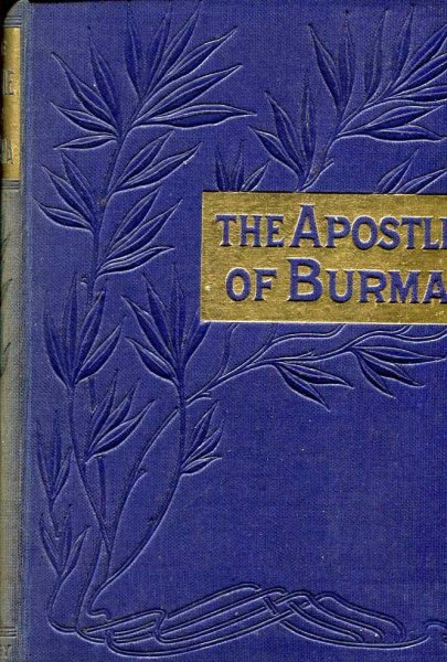 Image for The Apostle of Burma - a memoir of Adoniram Judson