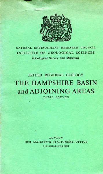 Image for Rhe hampshire Basin and Adjoining Areas : British Regional Geography