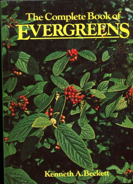 Image for The Complete Book of Evergreens