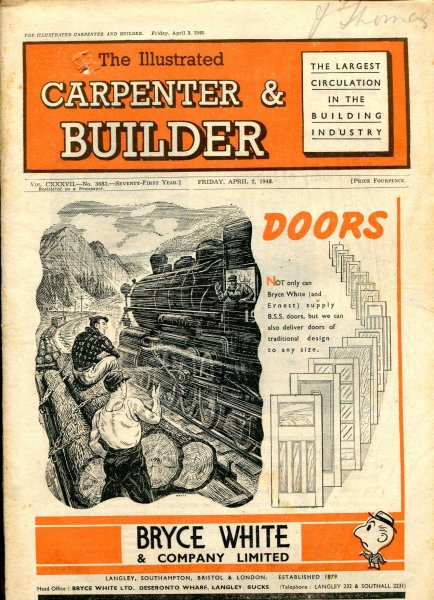 Image for The Illustrated Carpenter & Builder April 1948 (five issues)
