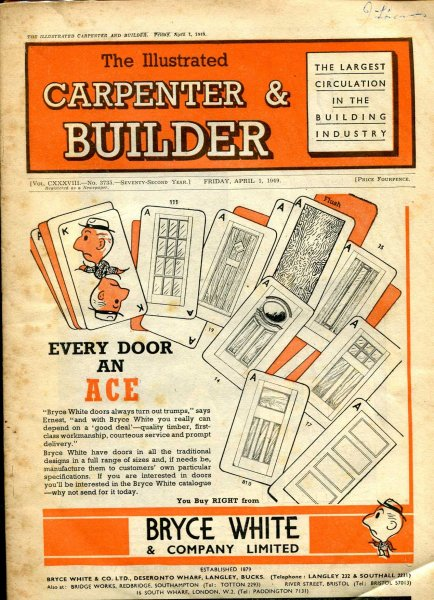 Image for The Illustrated Carpenter & Builder April 1949 (five issues)