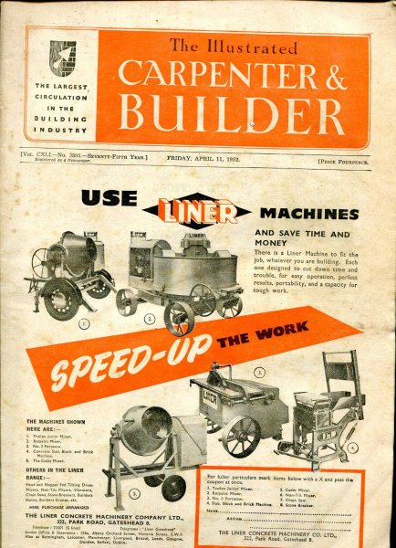 Image for The Illustrated Carpenter & Builder April 1952 (two issues)