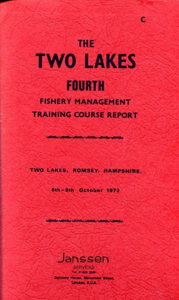 Image for The Two Lakes Fourth Fishery Management Course Report bound with The Fifth & Sixth Reports