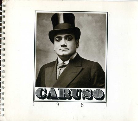 Image for The Caruso Opera Engagement Calendar 1981