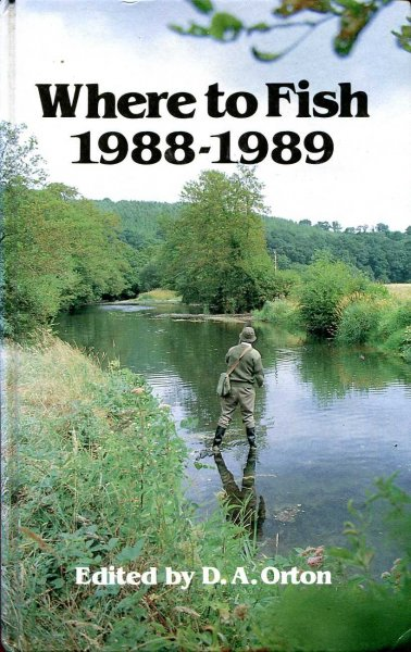 Image for Where to Fish 1988-1989