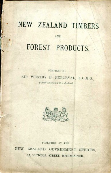 Image for New Zealand Timbers and Forest Products
