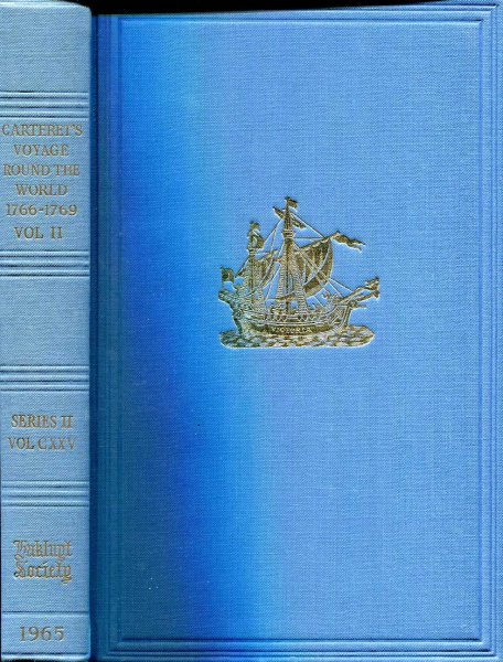 Image for Carteret's Voyage Round the World 1766-1769 (two volumes)