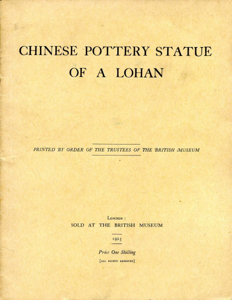 Image for Chinese Pottery Statue of a Lohan