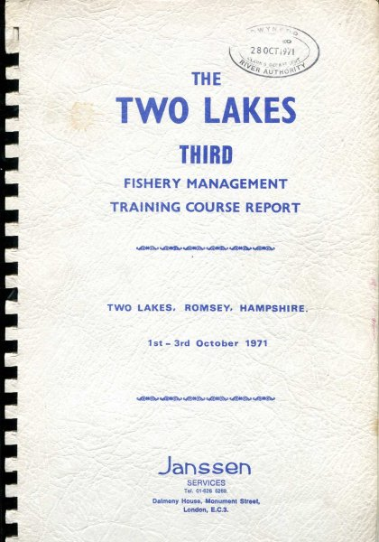 Image for The Two Lakes Third Fisheries Management Training Course Report
