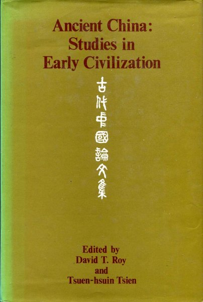 Image for Ancient China : Studies in Early Civilization