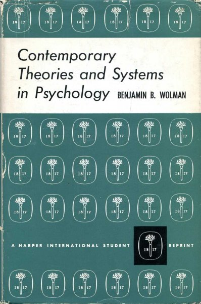 Image for Contemporary Theories and Systems in Psychology