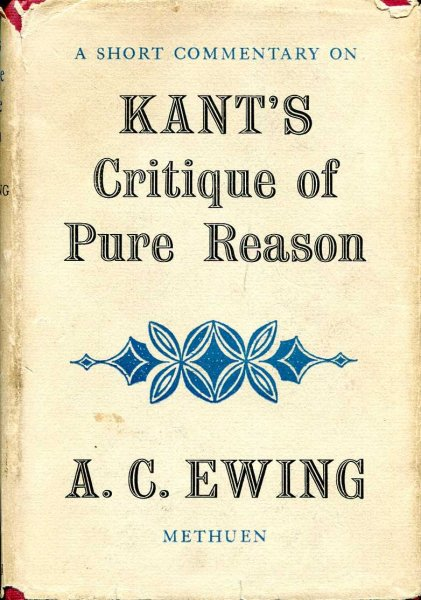 Image for A Short Commentary on Kant's Critique of Pure Reason