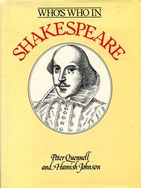 Image for Who's Who in Shakespeare
