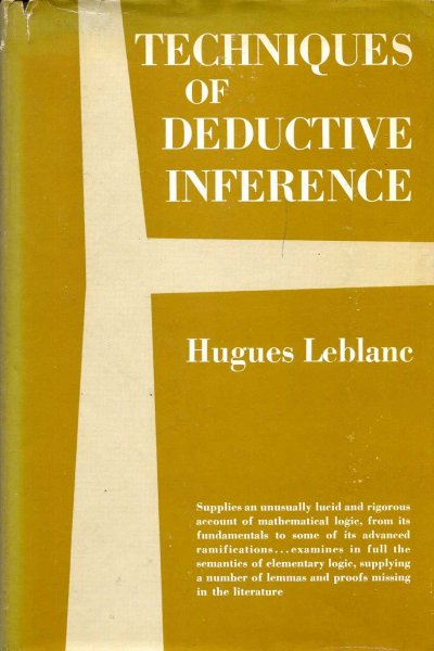 Image for Techniques of Deductive Inference