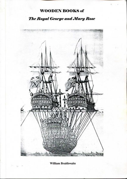 Image for Wooden Books of the Royal George and Mary Rose 1840-1849
