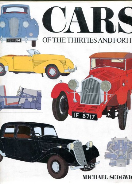 Image for Cars of the Thirties and Forties