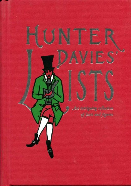 Image for Hunter Davies' Lists : An Intriguing Collection of Facts and Figures