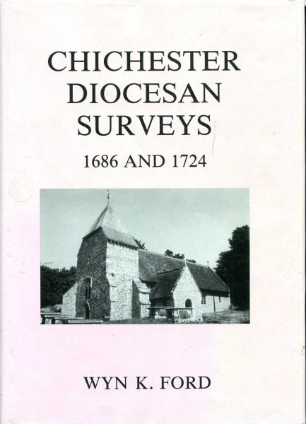 Image for Chichester Diocesan Surveys 1686 and 1724 (Sussex Record Society)