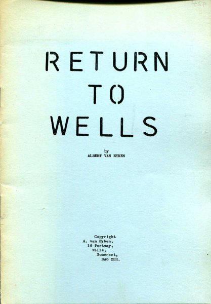 Image for Return to Wells