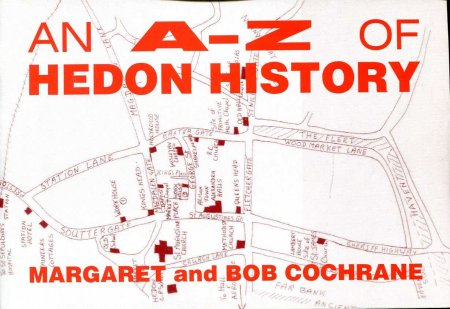 Image for An A-Z of Hedon History