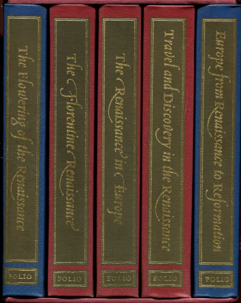 Image for The Story of the Renaissance (five volume boxed set)