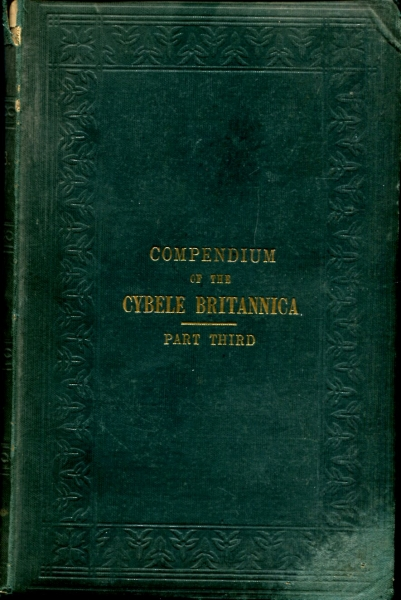 Image for Compendium of the Cybele Britannica ; or British Plants in their Geographical Relations : Part Third
