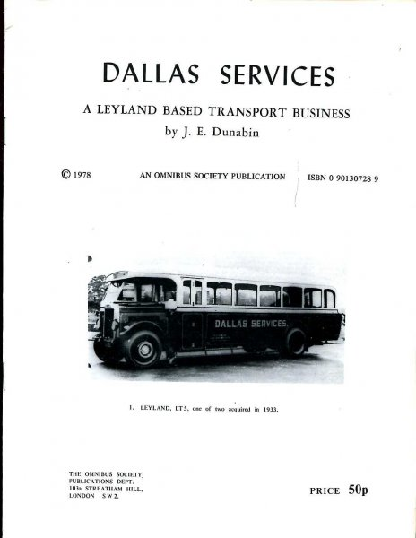 Image for Dallas Services : A Leyland Based Transport Business