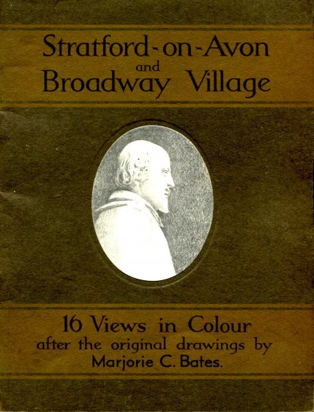 Image for Stratford-on-Avon and Broadway Village - a series of sixteen views in colour