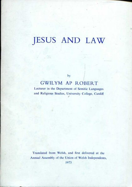 Image for Jesus and Law