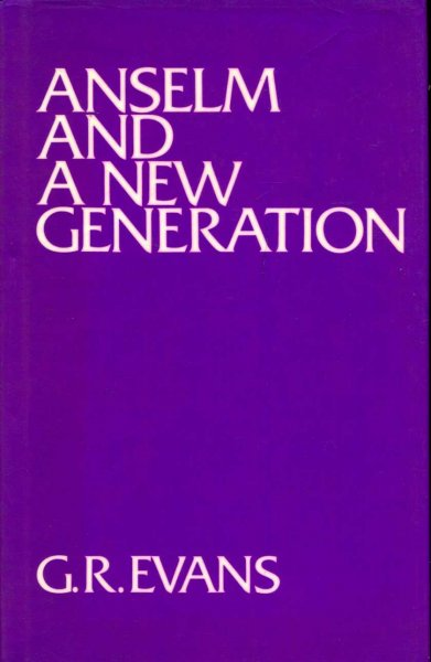 Image for Anselm and a New Generation