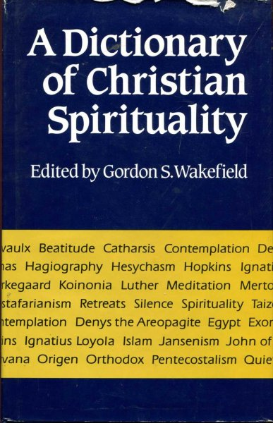 Image for A Dictionary of Christian Spirituality
