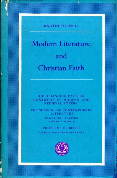 Image for Modern Literature and Christian Faith