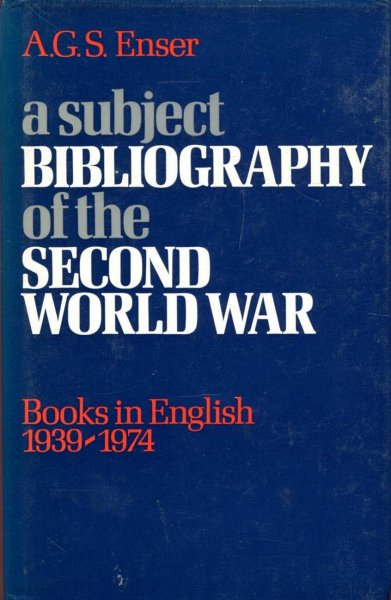 Image for A subject bibliography of the Second World War : Books in English, 1939-1974 (A Grafton book)
