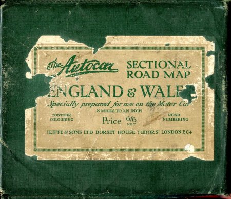 Image for The Autcar Sectional Road Map England & Wales, 24 sectional cards