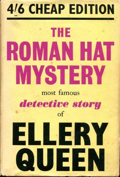 Image for The Roman Hat Mystery - a problem in deduction