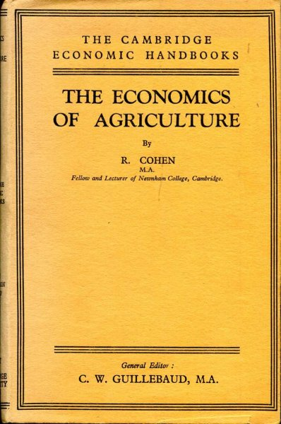 Image for The Economics of Agriculture