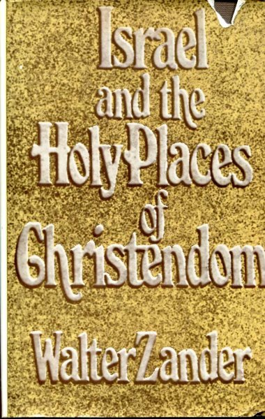 Image for Israel and the Holy Places of Christendom