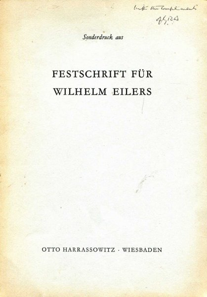 Image for Isaianic Problems : Festschrift Fur Wilhelm Eilers [offprint]