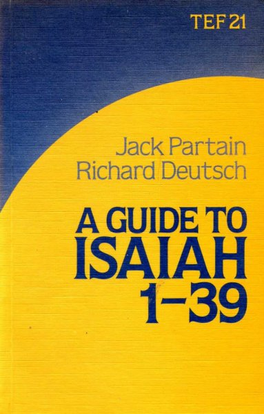 Image for A GUIDE TO ISAIAH 1-39 (TEF Guide 21)